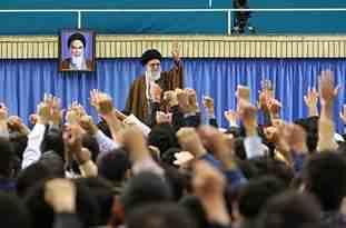 فیلم/ حاشیه جالب دیدار نخبگان با رهبر انقلاب