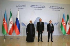 پایان نشست باکو/ آنچه در نشست روحانی، پوتین و علی اف گذشت