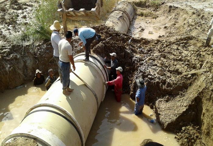 ترکیدگی مجدد و وعده های جدید آبفا خوزستان