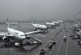 مه موجب لغو یا تاخیر برخی پروازهای فرودگاه اهواز شد