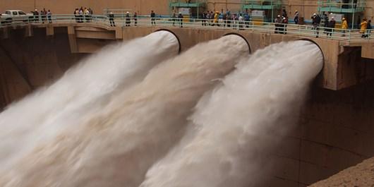 کاهش دبی ورودی و خروجی سد های خوزستان