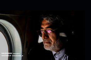 وزیر کشور وارد خوزستان شد/ بازدید میدانی وزیر کشور از مناطق سیل زده به صورت هوایی