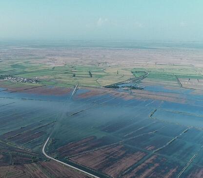 باران در حوضههای آبریز خوزستان