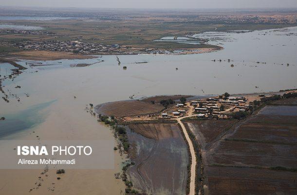 روستاهای مجاور کانون ریزگردها، در خطر افزایش دبی کانال آبرسانی