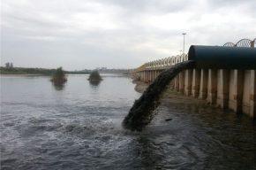 فاضلاب عفونی ۶ بیمارستان مستقیما به رودخانه میریزد