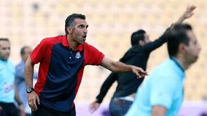 لیگ برتر فوتبال   هاشمی نسب : در روز بدمان باید بابت برد خوشحال باشیم