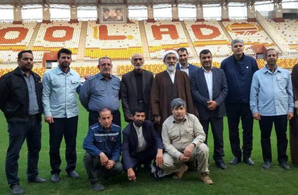 ورزشگاه شهدای فولاد خوزستان یکی از بسترهای مهم اجتماعی و فرهنگی است