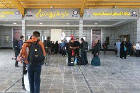 مسافران عتبات از مرز شلمچه تردد کنند