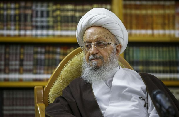 آیت الله مکارم شیرازی در بیمارستانی در تهران بستری شد