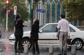تقویت بارشها در کشور در نیمه دوم آبان