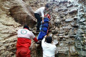 مرگ مرد ۵۰ ساله در سقوط از کوه فدلک شوشتر