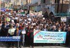 راهپیمایی خودجوش مردم شوشتر در محکومیت آشوب روزهای گذشته