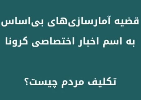 موشن گرافیک آمار کرونا در خوزستان