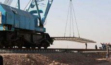 بزودی راه آهن ایران و عراق به هم متصل می شود