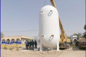 مخزن ۳۰ تنی اکسیژن بیمارستان خاتمالانبیا نصب میشود