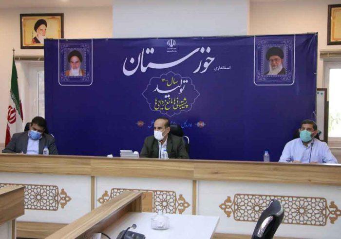 جلسه بررسی مصوبات شهرستان شوشتر و گتوند